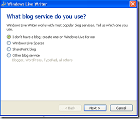 wlw multiple blog support thumb 7 Reasons Why You should use Windows Live Writer for Blogging