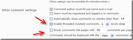 wordpress comment thumb 8 Essential Settings after Installing WordPress
