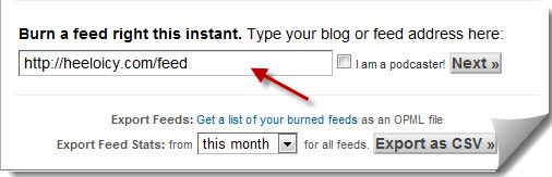 Burn Feed Feedburner How to Set up Feedburner For WordPress Blog