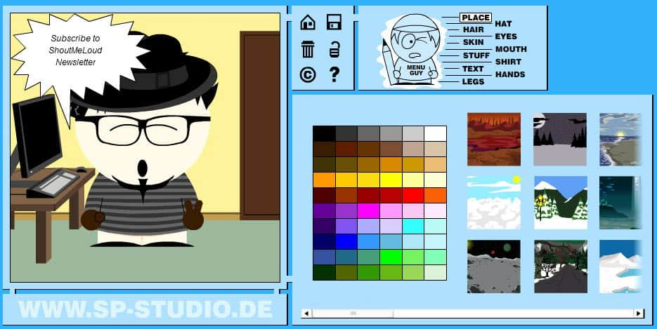 South Park Avatars Sp Studio : Create South Park Character Avatars Free