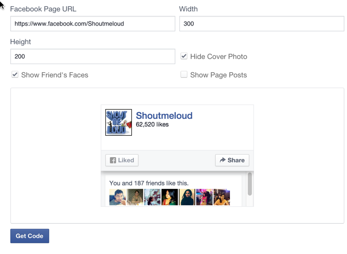 Guide How to make an iframe facebook fanpage