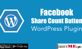 Facebook Share count Button WordPress Plugin