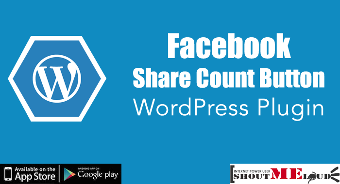 Facebook Share Count Button