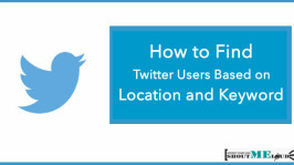 How to Find Twitter Users Based on Location and Keyword