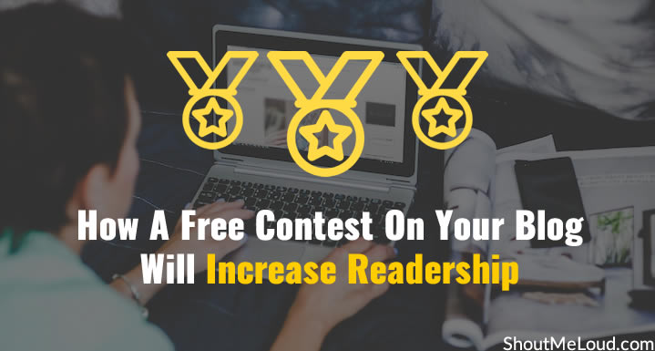 Free Contest On Your Blog to Increase Readership
