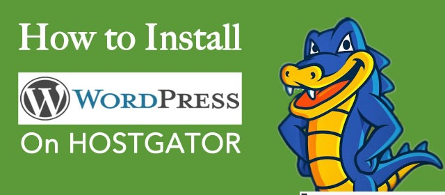 How To Install WordPress on Hostgator cPanel [With Pictures]