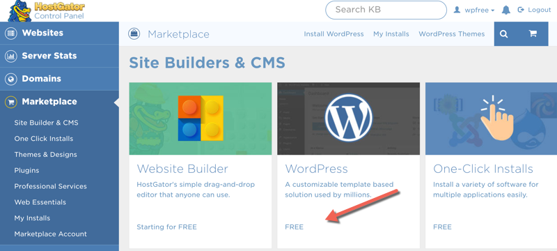 How To Install WordPress On HostGator In With Pictures - Hostgator website templates