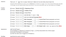 Add Adsense Between Post : Quick Adsense WordPress plugin