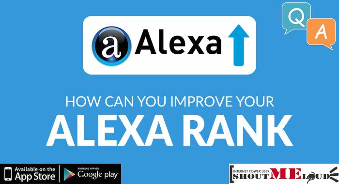 How Can I improve my Alexa ranking