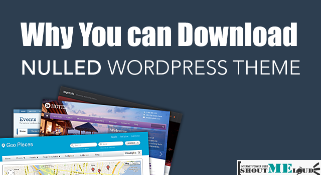 why anyone can download premium wordpress theme for free