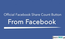 Official Facebook Share Count Button From Facebook