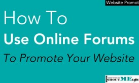 How To Use Online Forums To Promote Your Website