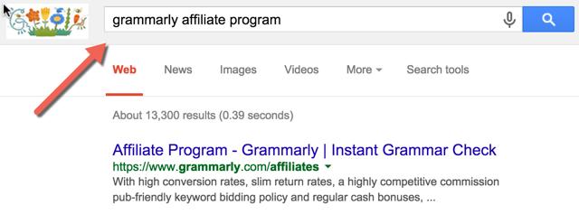 Search hack Affilaite Program