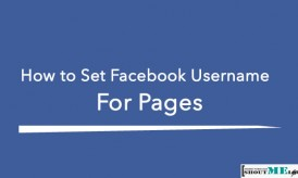 How to Set Facebook Username for Pages