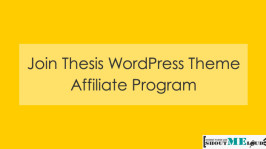 Join Thesis WordPress Theme Affiliate Program