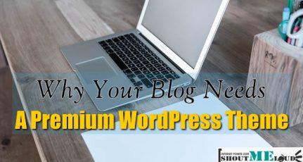 Why Your Blog Needs A Premium WordPress Theme ?