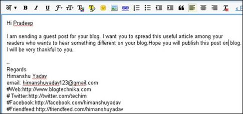 contact blog owner