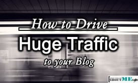 How To Drive Huge Traffic To Your Blog In A Few Weeks