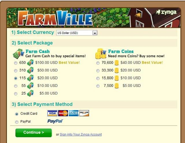 Get Farmville Cash FarmVille game on Facebook: Real time Farm Simulation Game