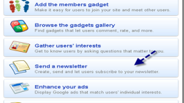 Use Google Friend Connect to Send Newsletter To Members