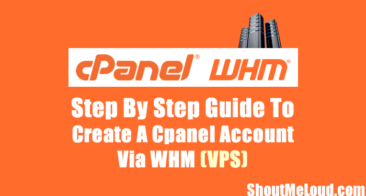 How to Create Cpanel Account in WHM (VPS)