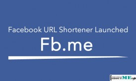 Fb.me : Facebook URL Shortener Launched
