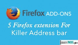 5 Firefox extension for Killer Address bar
