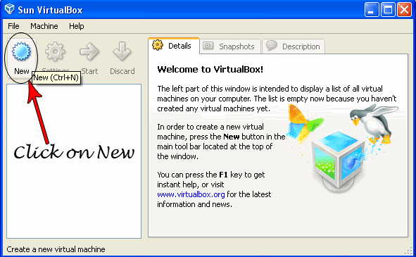 new virtual machine How to install Chrome OS on Xp