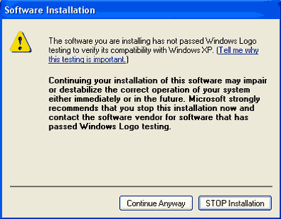 software installation error How to install Chrome OS on Xp
