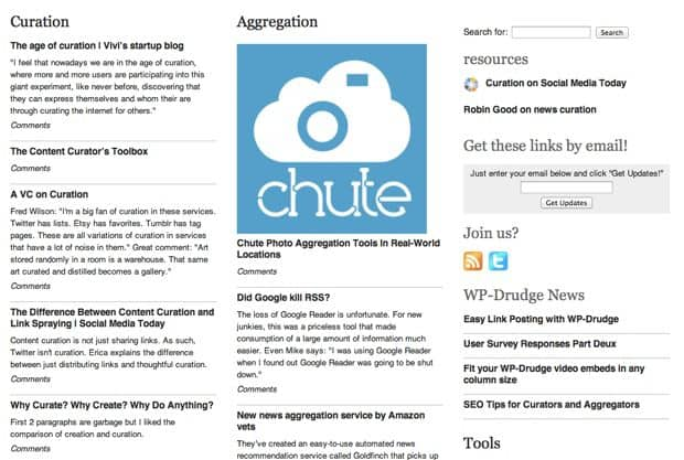 Aggregator WordPress Theme : Create  News Aggregation Site