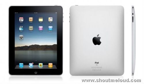 Apple Tablet iPad Features and Specification
