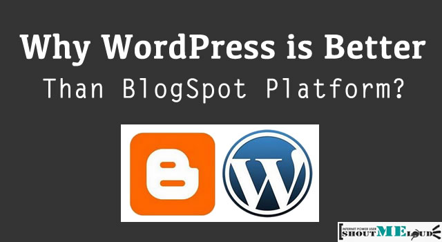 WordPress Vs. Blogspot