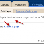 How to Add Pages Into BlogSpot Blog