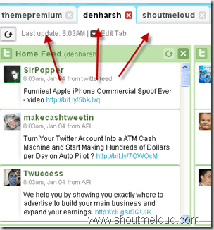 multiple twitter profile thumb HootSuite Review : Ultimate Twitter Web Client