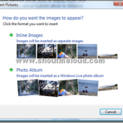 Watermark your Images using Windows Live writer
