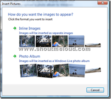 windowslivewriterwatermark thumb Watermark your Images using Windows Live writer