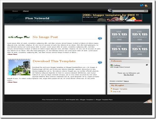 RockPressBloggerTemplate thumb 30+ Best Magazine Style Blogger Templates of 2010
