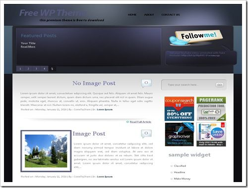 SilverstarBloggerTemplate thumb 30+ Best Magazine Style Blogger Templates of 2010