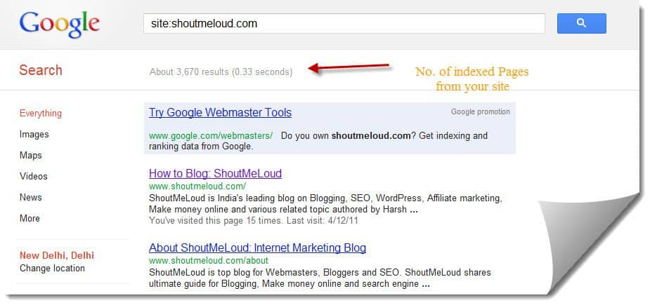 Site indexed How to Index a Website in Google Search in 24 Hrs [Case Study]