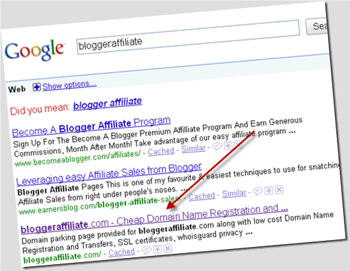 blogger affiliate thumb How to Index a Website in Google Search in 24 Hrs [Case Study]