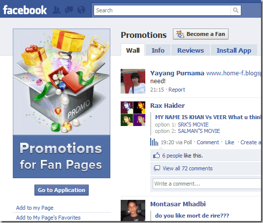 fanpages 8 Very Useful Facebook Apps For Bloggers