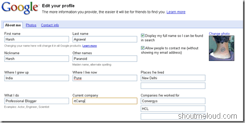 How to Create Your Google Profile