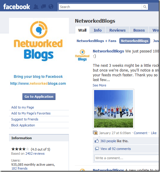 networkedblog 8 Very Useful Facebook Apps For Bloggers