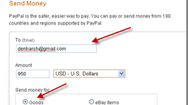 Paypal: How to Send Money to India?