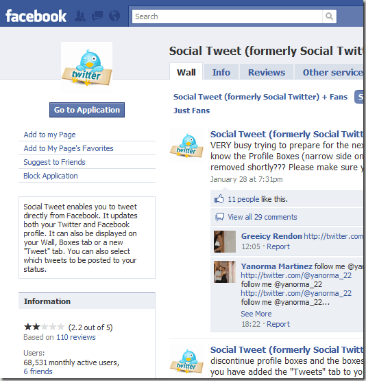 socialtweet 8 Very Useful Facebook Apps For Bloggers