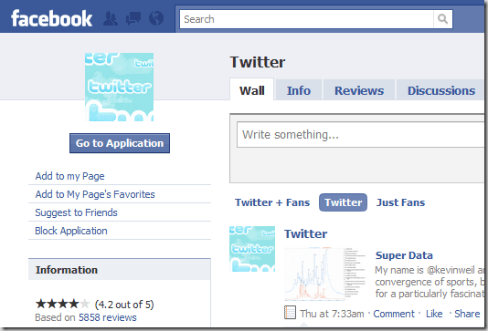 twitter 8 Very Useful Facebook Apps For Bloggers