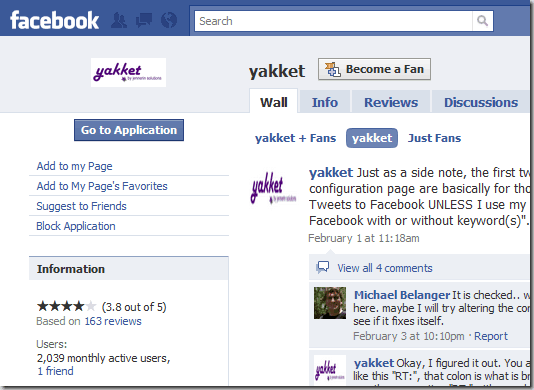 yakket 8 Very Useful Facebook Apps For Bloggers