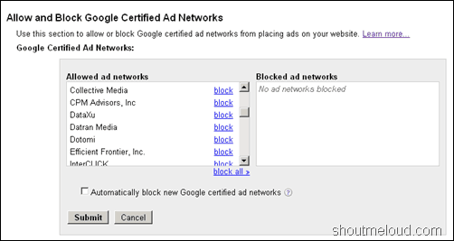 certifiedadnetwork thumb Adsense Implemented Multiple ad networks