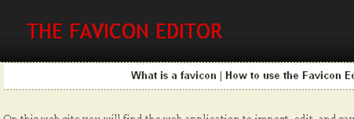 favicon6 Huge List of 35 Free Online Tools to Create Favicon