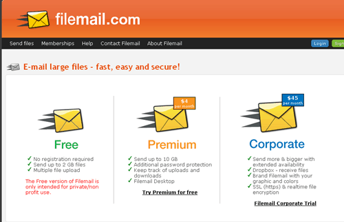 filemail 5 Best Way To Share Large Files for Free
